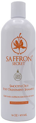 Smooth Out Post Treatment Shampoo by Saffron Secret