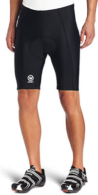 Canari Cyclewear Men's Velo and Gel Padded Bike Short