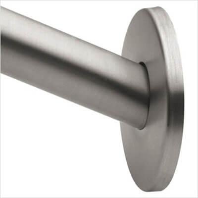 Moen CSR2145BN Curved Shower Rod, Brushed Nickel