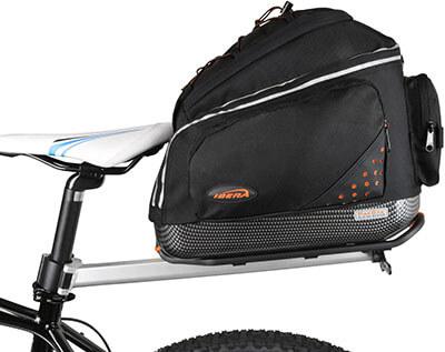 Ibera PakRak Quick-Release Commuter Bicycle Trunk Bag
