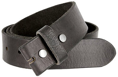 Belts.com BS-40 Vintage Full Grain Leather Belt