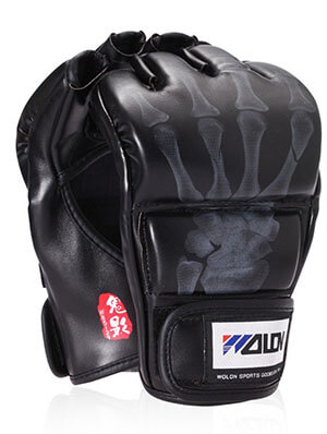 Generic SKL Half Finger Boxing Gloves Sanda Fighting Gloves