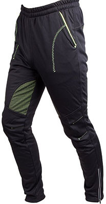 4ucycling Men's Multi Sporting Pants Fleeced and Casual wear