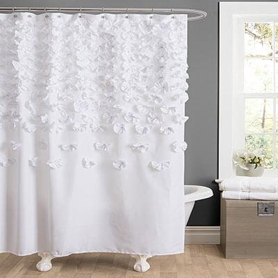 Lush Decor Lucia-Shower Curtain