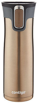 Contigo AUTOSEAL West- Loop, Stainless steel Cups