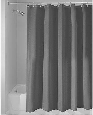 InterDesign Mildew-Free shower curtains
