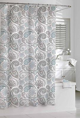 Kassatex Paisley-Shower Curtains