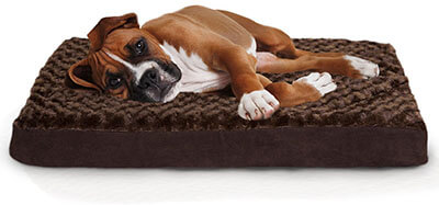 Furhaven Ultra Plush Deluxe Orthopedic Mattress for Pets