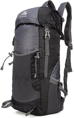 Mozone 40L Lightweight Travel Water Resistant & foldable Hiking Daypack