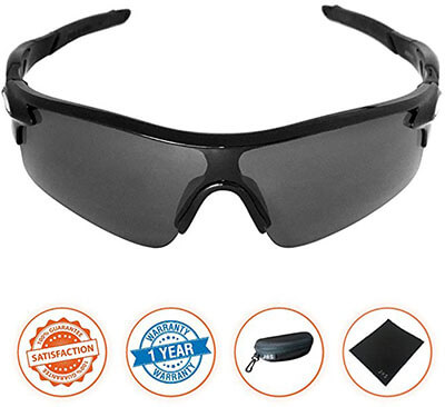 J+S Active-PLUS Cycling Outdoor Sports Sunglasses