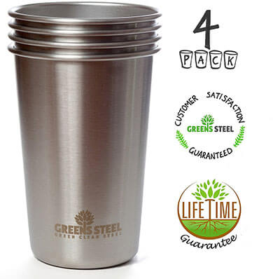 Premium Stainless -Steel Cups