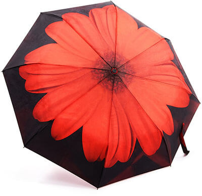 Oak Leaf Lightweight Rain Travel Umbrella
