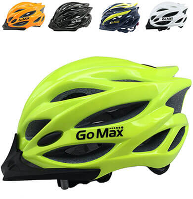 GoMax Aero Adult Safety Cycling Helmet, Ultralight Inner Padding