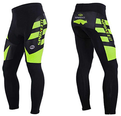 Sponeed Men's Long Biking Tights