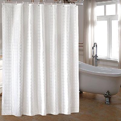 Ufaitheart extra-long shower curtains.