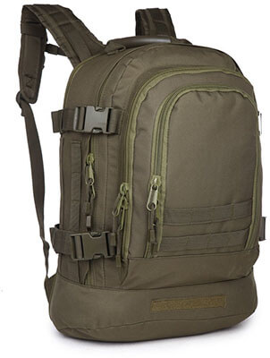 ARMYCAMOUSA 40L Outdoor Expandable Tactical Backpack