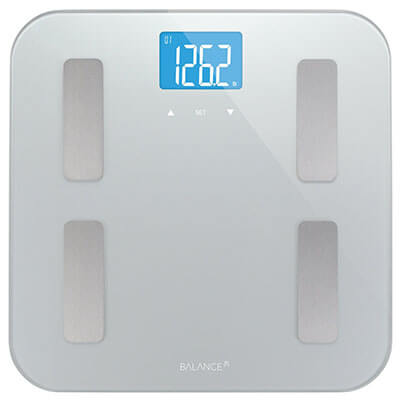 Greater Goods High Accuracy Digital Body Fat Scale, Large Backlit Display