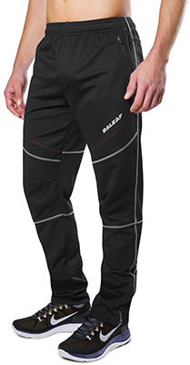 Baleaf Men's Windproof Thermal Winter Biking Pants