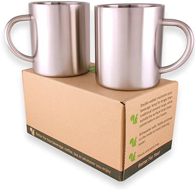 Double-walled Stainless Steel Cups