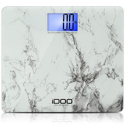 iDOO Precision Digital Bathroom Scale, Oversize Steady Platform