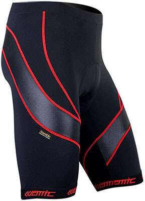 SANTIC Men's Cycling Shorts Biking Half Pants