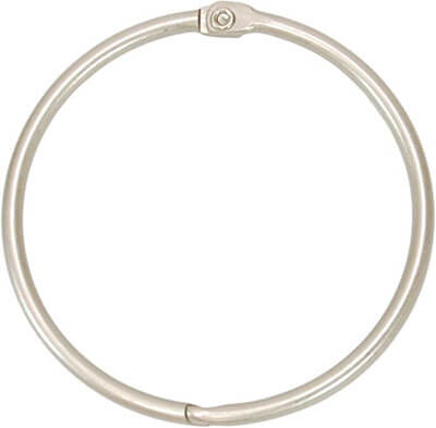 Kiera Grace #Circular Metal-Shower Curtain Rings