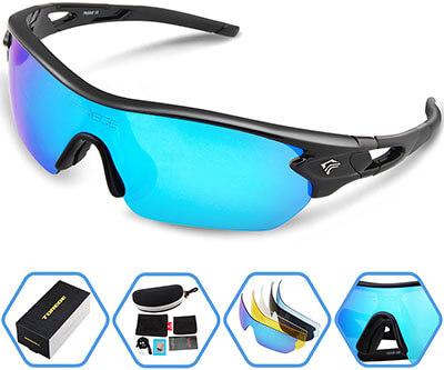 Torege TR002 Unisex Polarized Sports Sunglasses