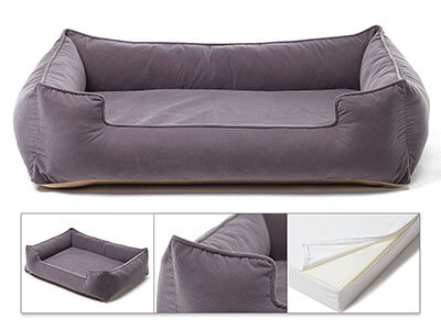 Petsbao Premium Orthopedic Dog Bed & Lounge, Waterproof Line