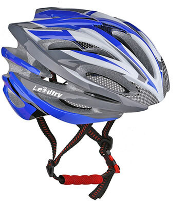 Leadtry HM-1 Ultralight Integrally Molded EPS Bike Helmet, Antibacterial Pads