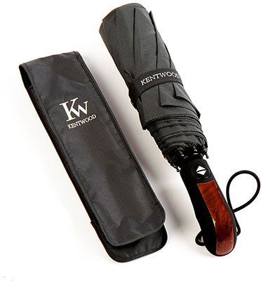 Kentwood Windproof Travel Teflon Umbrella