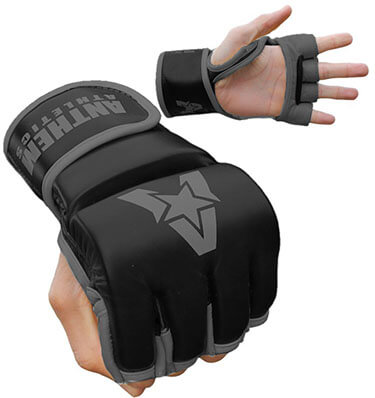 Anthem Athletics PREDATOR MMA cowhide leather Gloves, Training, UFC