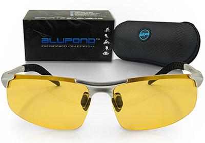 BLUPOND TITAN, Polarized Metal-Frame Sports Sunglasses