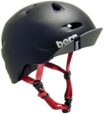Bern Unlimited Brentwood Summer Helmet, Flip Visor