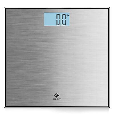 Etekcity Digital Body Weight Bathroom Scale, Stainless Steel
