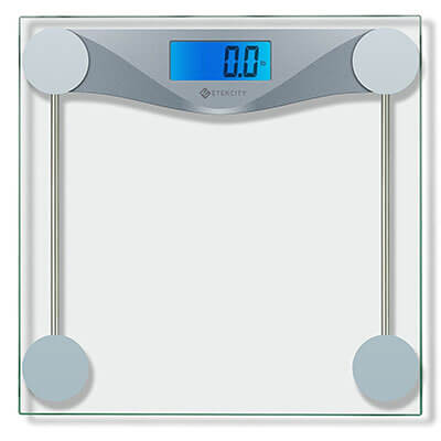 Etekcity Digital Body Weight Scale, Tempered Glass