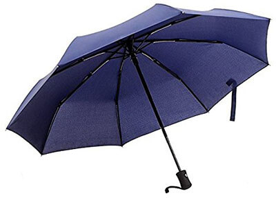 Ohuhu Windproof Auto Travel Umbrella