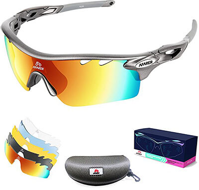 AFARER Polarized Sports Sunglasses for men and women