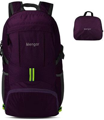 Mengar 35L Foldable Water Resistant Packable Backpack Hiking Backpack