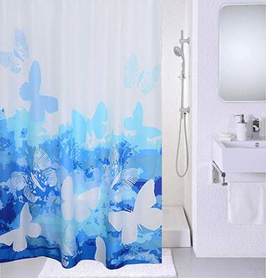 Magic Vida- Decorative flowers shower curtains.
