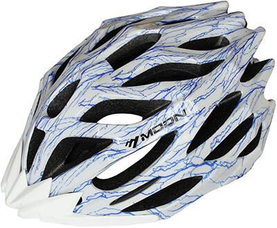 Snail&Hawk Unisex Moon Adjustable In-Mold Cycling Bike Helmet