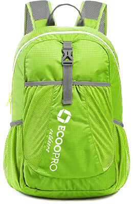 ECOOPRO Lightweight Packable Travel Hiking Backpack, 20L