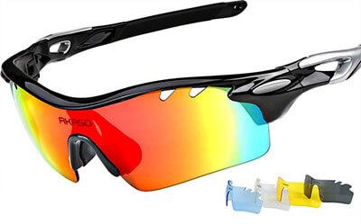 AKASO Unisex Polarized Sports Sunglasses