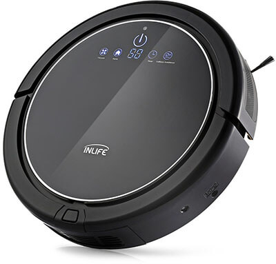 INLIFE Robotic Vacuum Cleaner, Self-Charging, Anti-Bump Technology