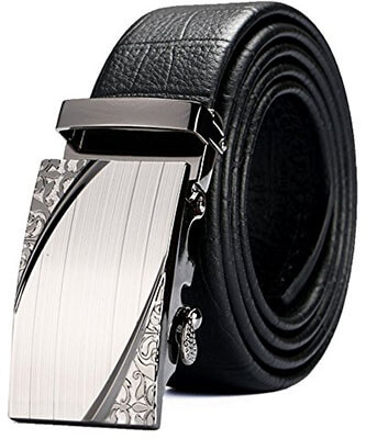 VRLEGEND Men's Genuine Leather Belt