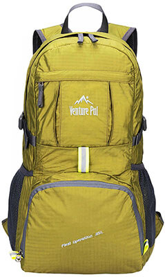 Venture Pal Lightweight Travel Hiking Backpack Daypack