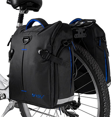 BV Bike Panniers Bags Large Capacity, 14 L All-Weather Rain Covers