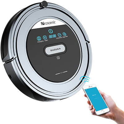 Proscenic Suzuka WI-FI Robotic Vacuum Cleaner