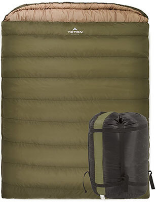 Teton Sports Double Sleeping Bag