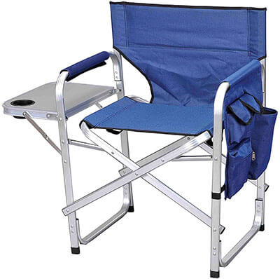 Stylish Camping Full Back Directors Camping Chair