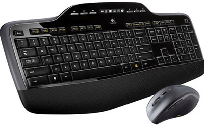Logitech MK710 Wireless Keyboard and Mouse Combination